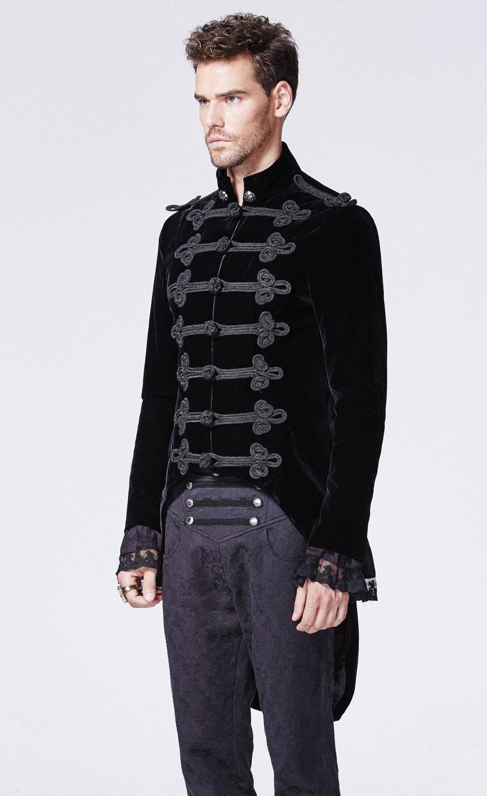 Veste gothique homme pas cher