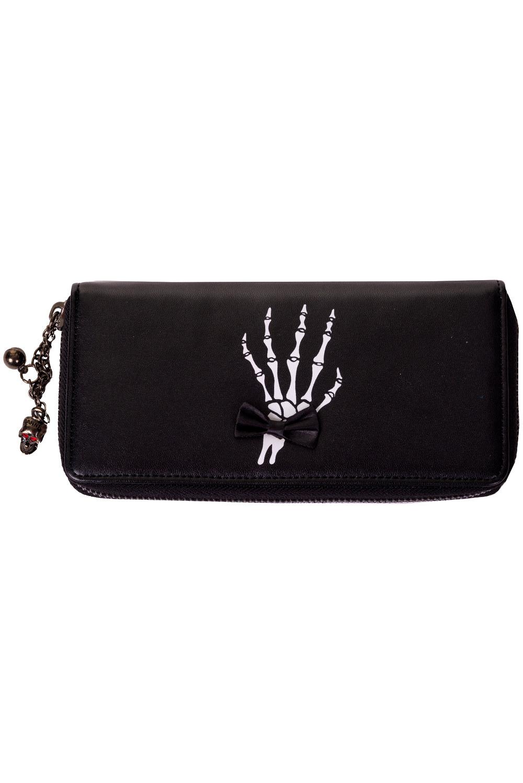 Portefeuille gothique noir BANNED