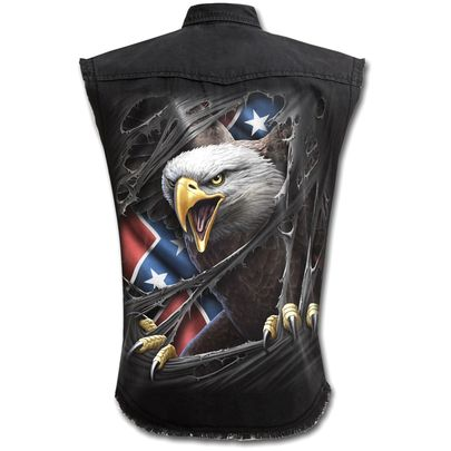 Chemise dark wear SPIRAL 'rebel eagle'