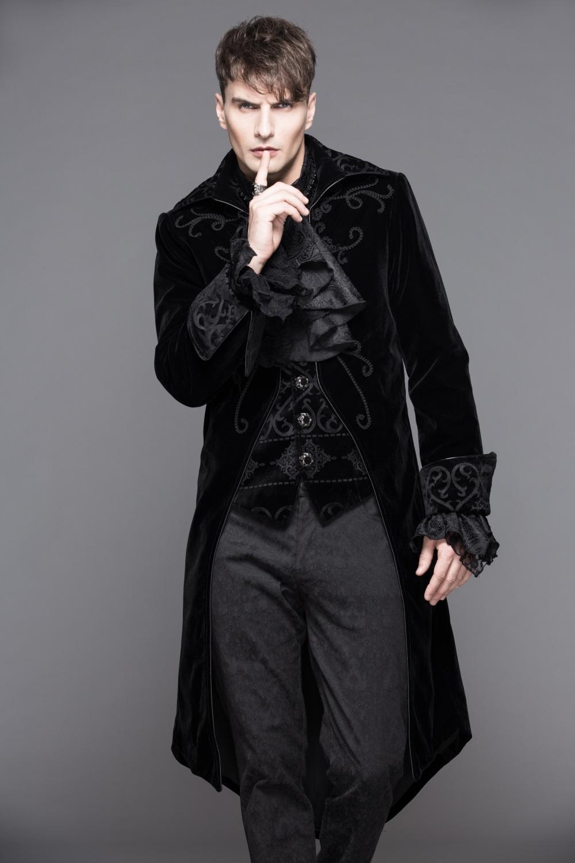 Pie De Veste Velours Pour Noir Queue Fashion Devil En Homme 4S4x65qw 63e496123a7