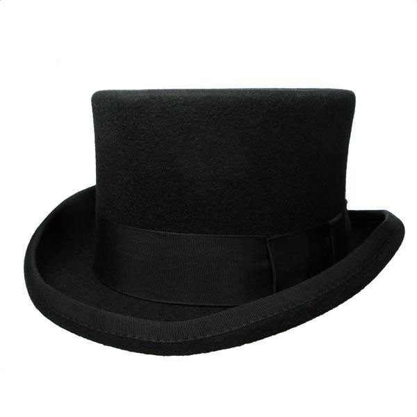 chapeau gothique haut de forme unisexe. Black Bedroom Furniture Sets. Home Design Ideas