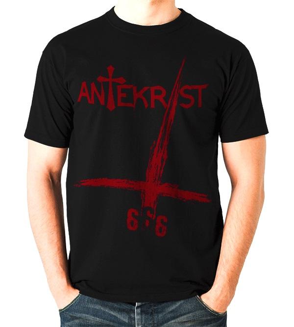 Noir Antekrist Satanique T Homme Shirt 8OkwX0nNP
