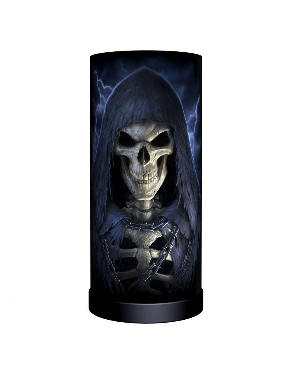 Lampe de chevet gothique design james ryman 39 the reaper round 39 for Lampe de chevet anglais