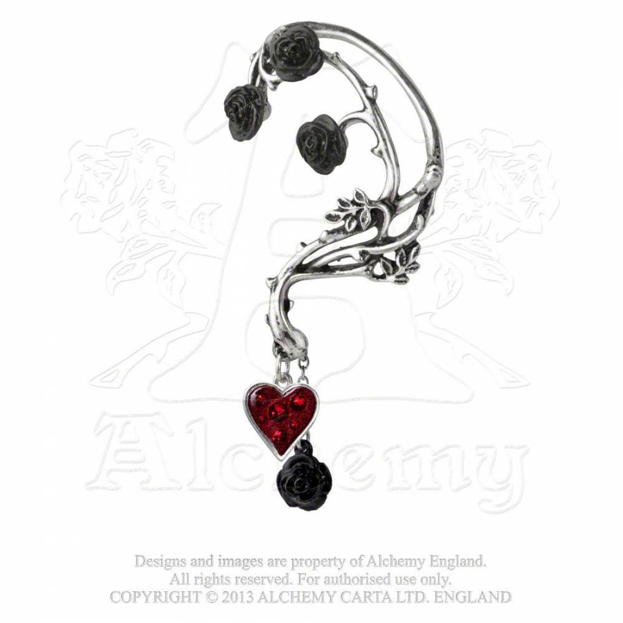 Boucle Roses' 'bed Gothique D'oreille Of Blood 35RLAqj4