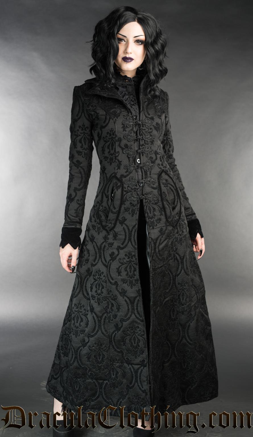 Manteau DRACULA CLOTHING 'Ives coat'