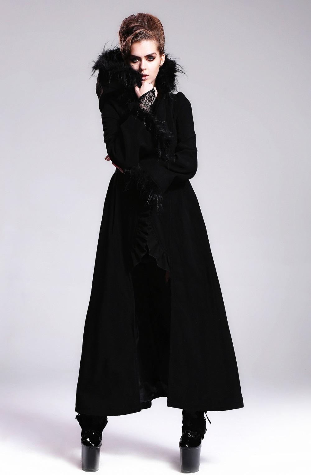 magasin en ligne e4320 836c9 Long manteau gothique femme DEVIL FASHION
