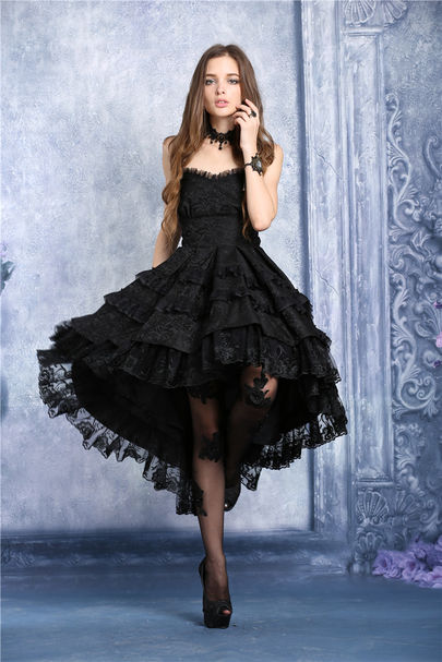 Robe gothique romantique DARK IN LOVE