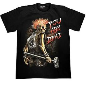 T-shirt Glow in the Dark 'you are dead'