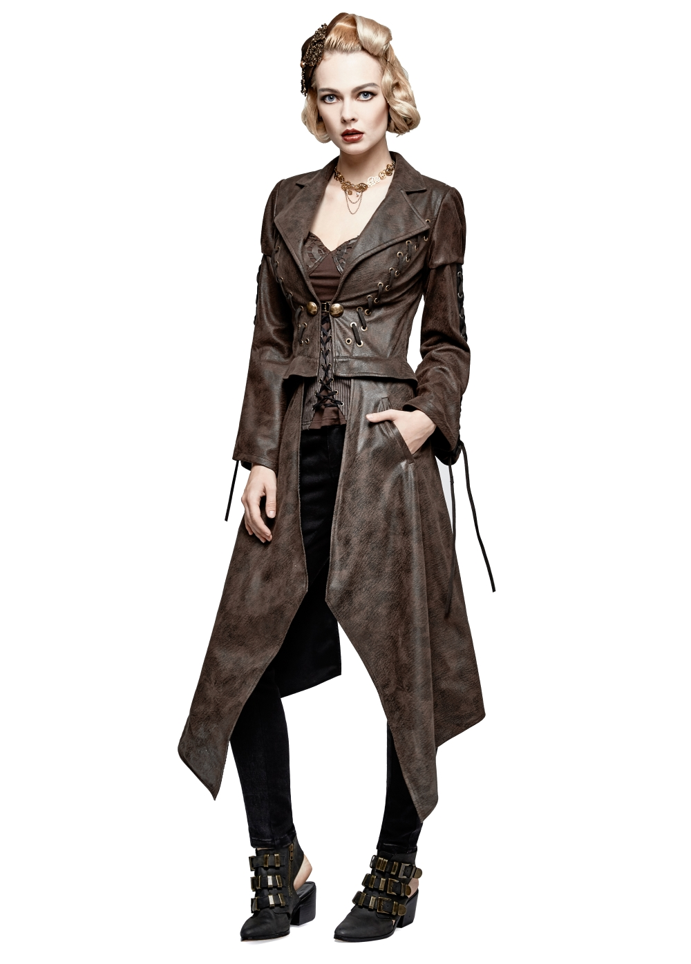 Veste steampunk femme PUNK RAVE