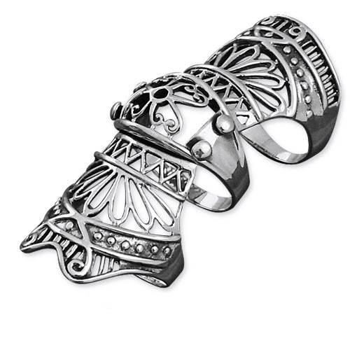 accessoire gothique homme bijoux armure