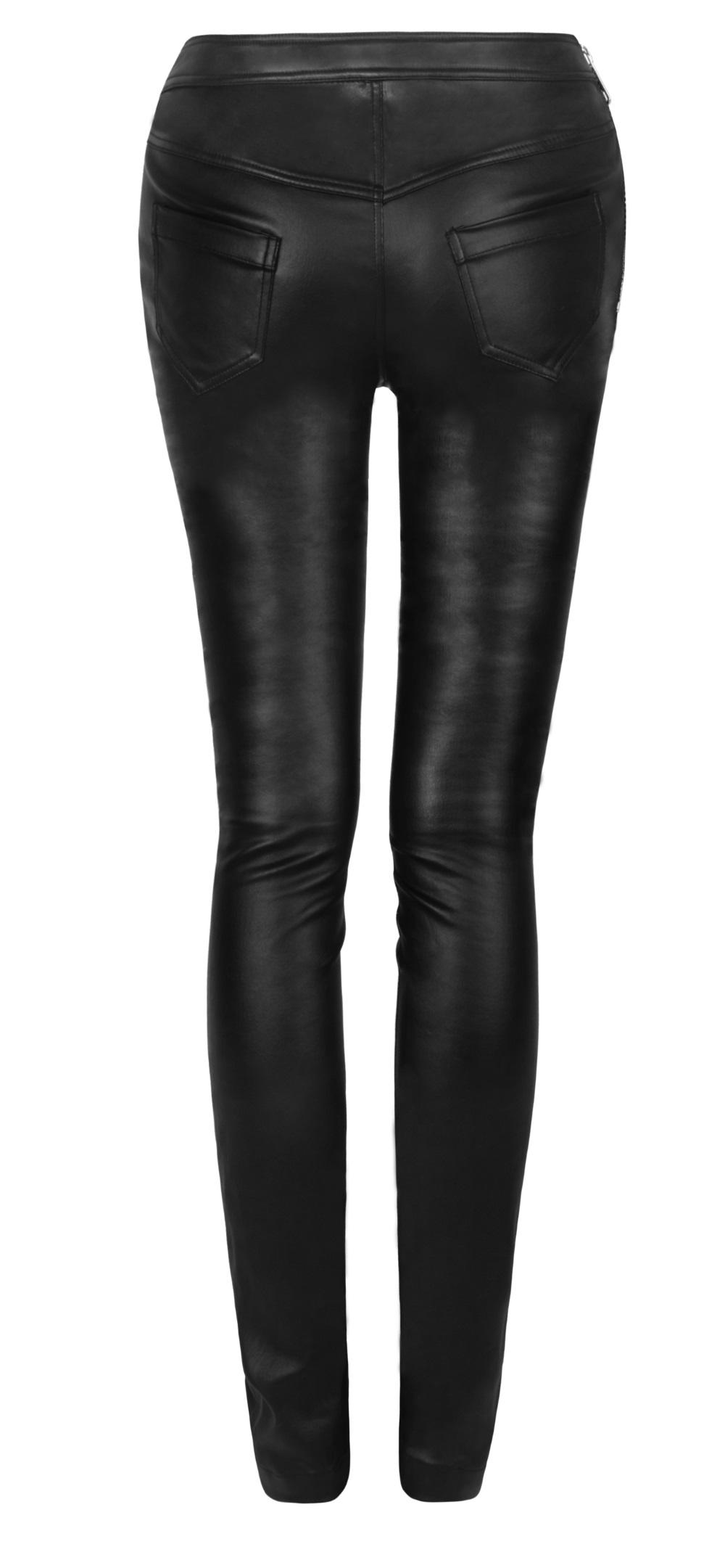 pantalon gothique femme en simili cuir noir. Black Bedroom Furniture Sets. Home Design Ideas