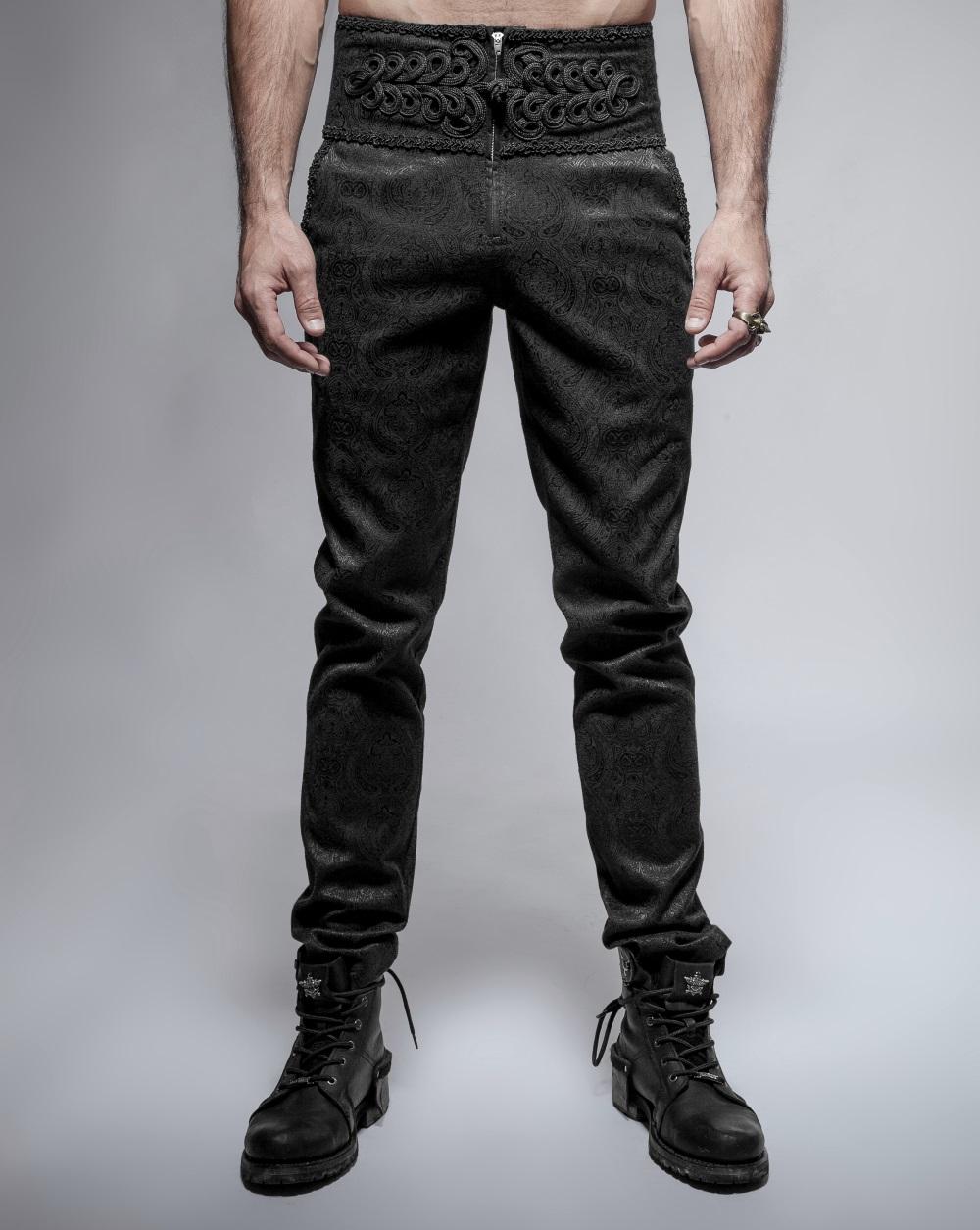 Pantalon gothique victorien homme PUNK RAVE