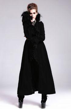 Long manteau gothique femme DEVIL FASHION
