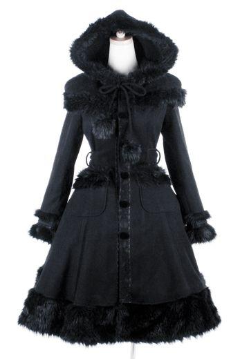 Manteau gothique femme discobole