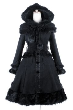 Manteau gothique lolita PUNK RAVE