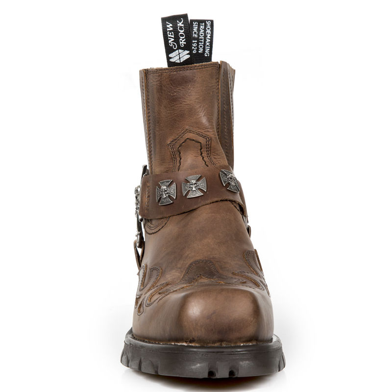 New M 7647 Bottines Rock C2 steampunk CdexorB