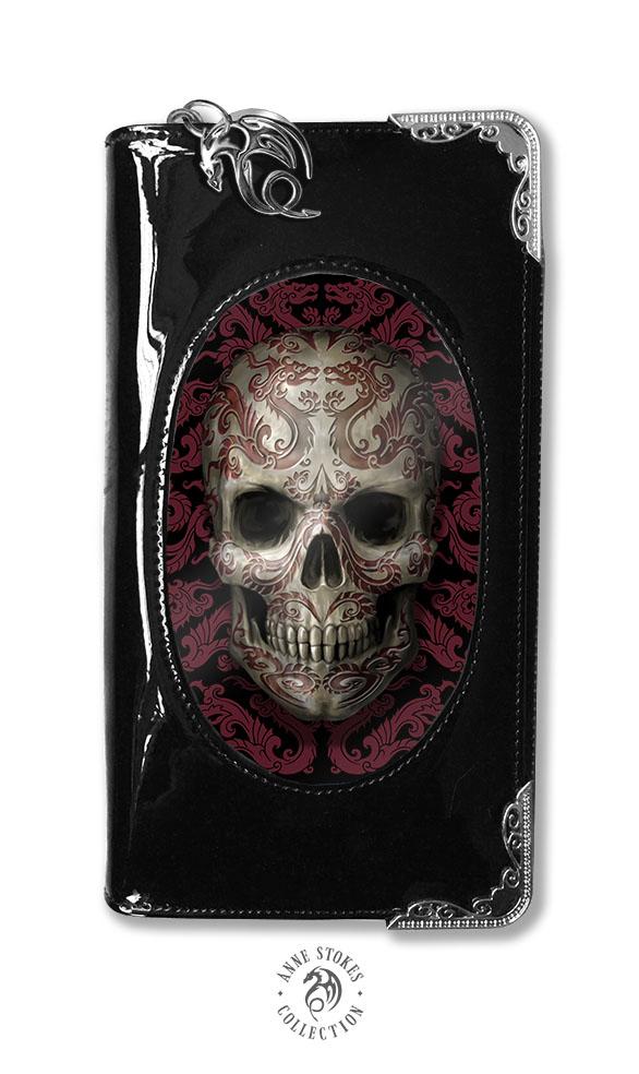 nouvelle arrivee 5099b 9d547 Portefeuille gothique effet 3D