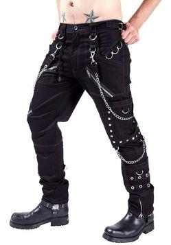 Pantalon gothique pas cher pantalon gothique sur - Pantalon en lin homme pas cher ...