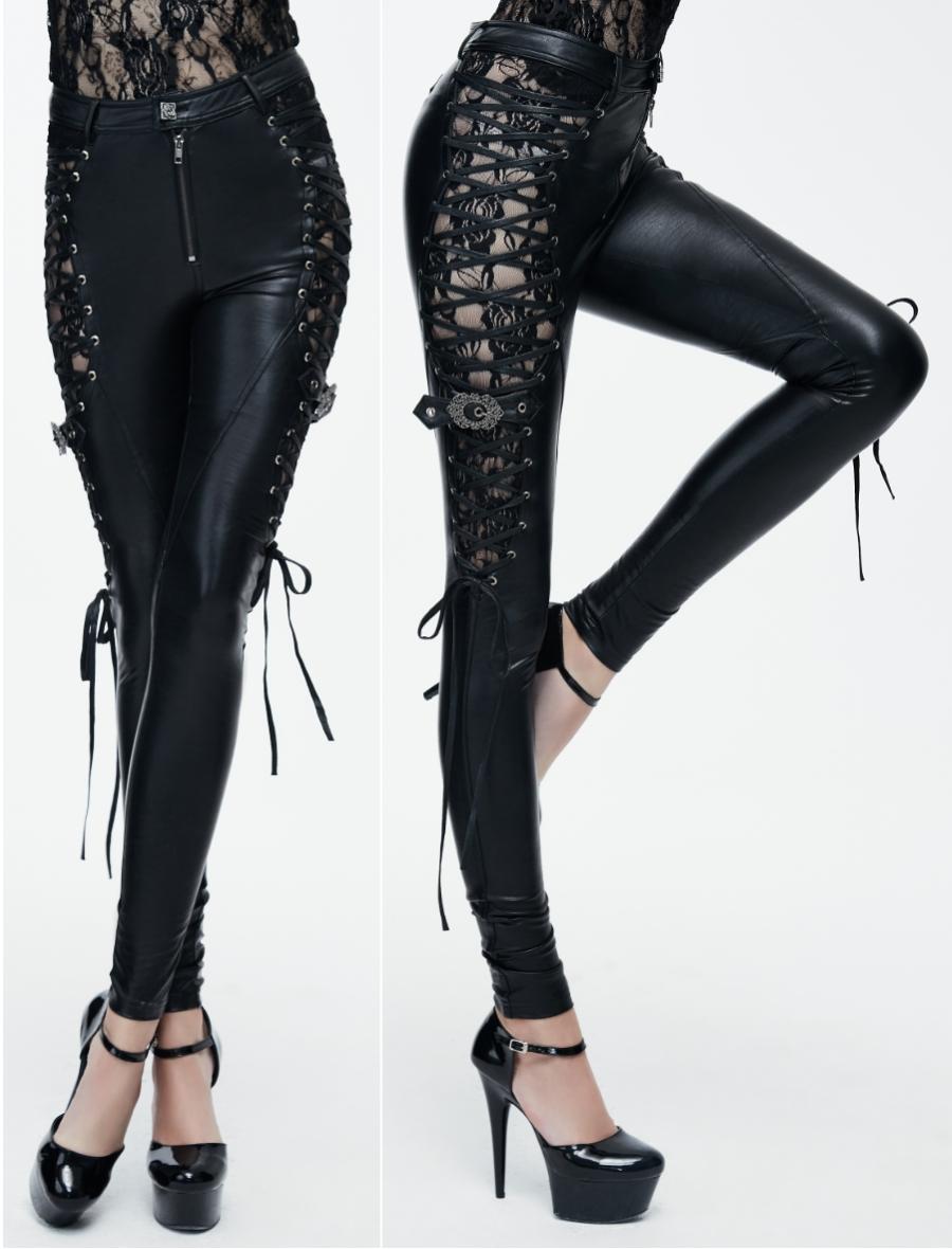 pantalon en sky noir femme
