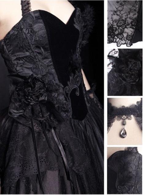 Photo n°2  Robe gothique PUNK RAVE