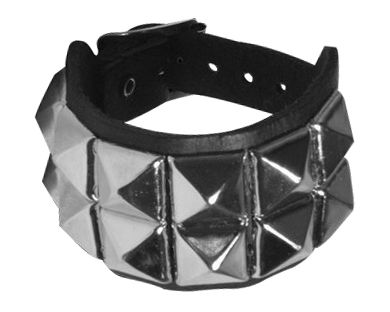 bracelet cuir clou