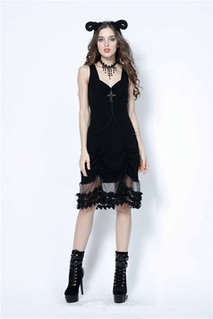 Robe gothique DARK IN LOVE