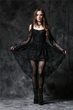 Robe gothique noire DARK IN LOVE