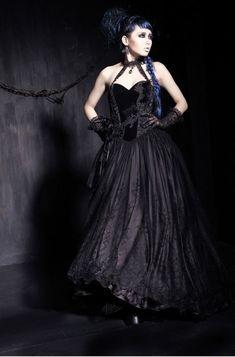 Robe gothique PUNK RAVE