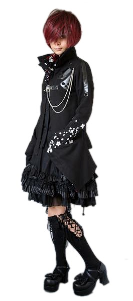 grandes chaussettes gothiques noires punk rave orn es de dentelle. Black Bedroom Furniture Sets. Home Design Ideas