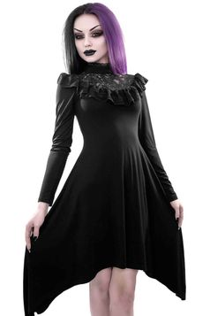 Robe gothique KILLSTAR 'sage dress'
