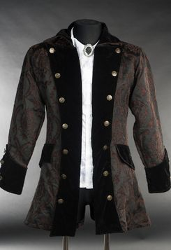large discount exclusive deals buying new Veste steampunk brocarde pirate