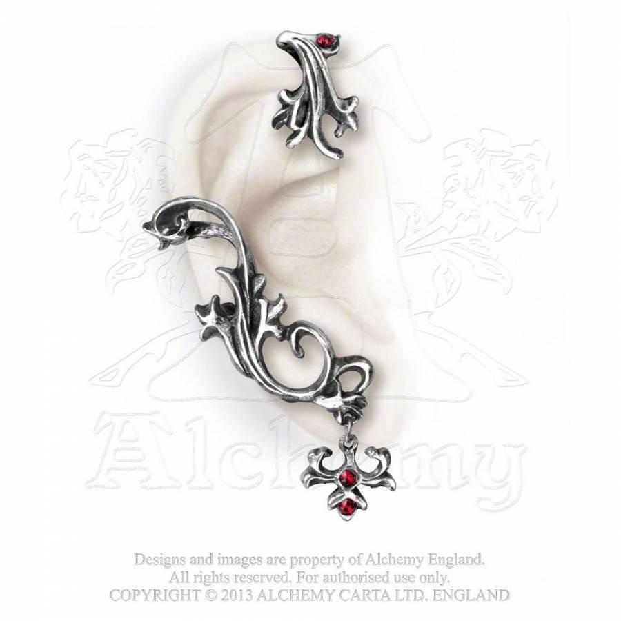 boucle d'oreille alchemy gothic