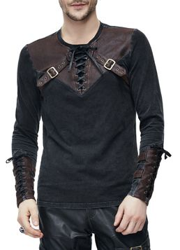 official images clearance prices quite nice Pull steampunk homme DEVIL FASHION