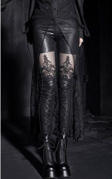 Leggings gothique 'burlesque efira'