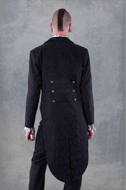 veste gothique aristocrate pour homme en queue de pie. Black Bedroom Furniture Sets. Home Design Ideas