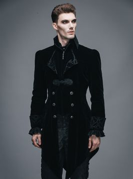 Devil Vampire Homme Gothique Fashion Veste 2IEHD9