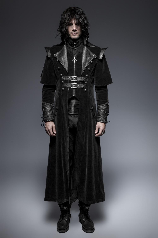 manteau gothique homme noir de chez punk rave. Black Bedroom Furniture Sets. Home Design Ideas