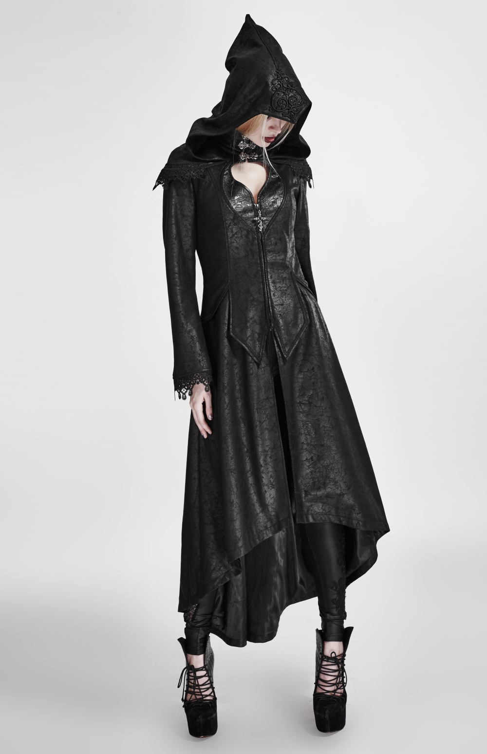 Capuche À Femme Manteau Grande Gothique BIZE8