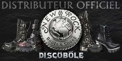 Discobole distributeur officiel newrock